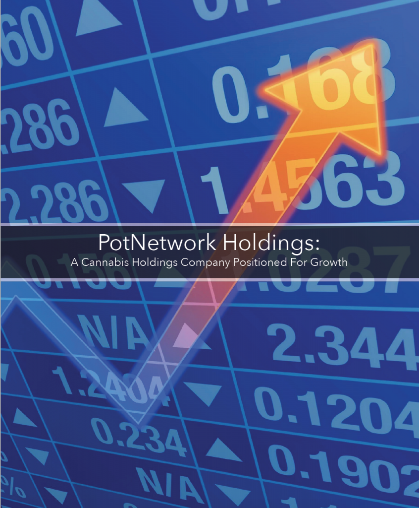 Marijuana Stocks POTN Potnetwork Holdings