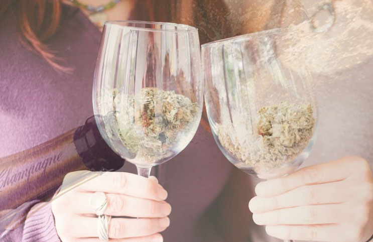 marijuana stocks champagne