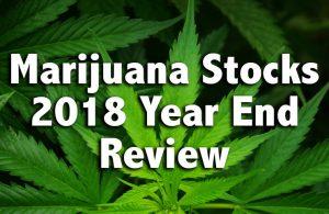 marijuana stocks 2018 year end review