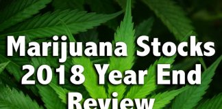 marijuana stocks 2018 year end review