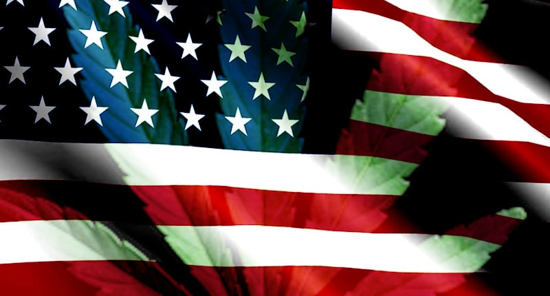 U.S. Flag, Cannabis Industry, Marijuana Stocks