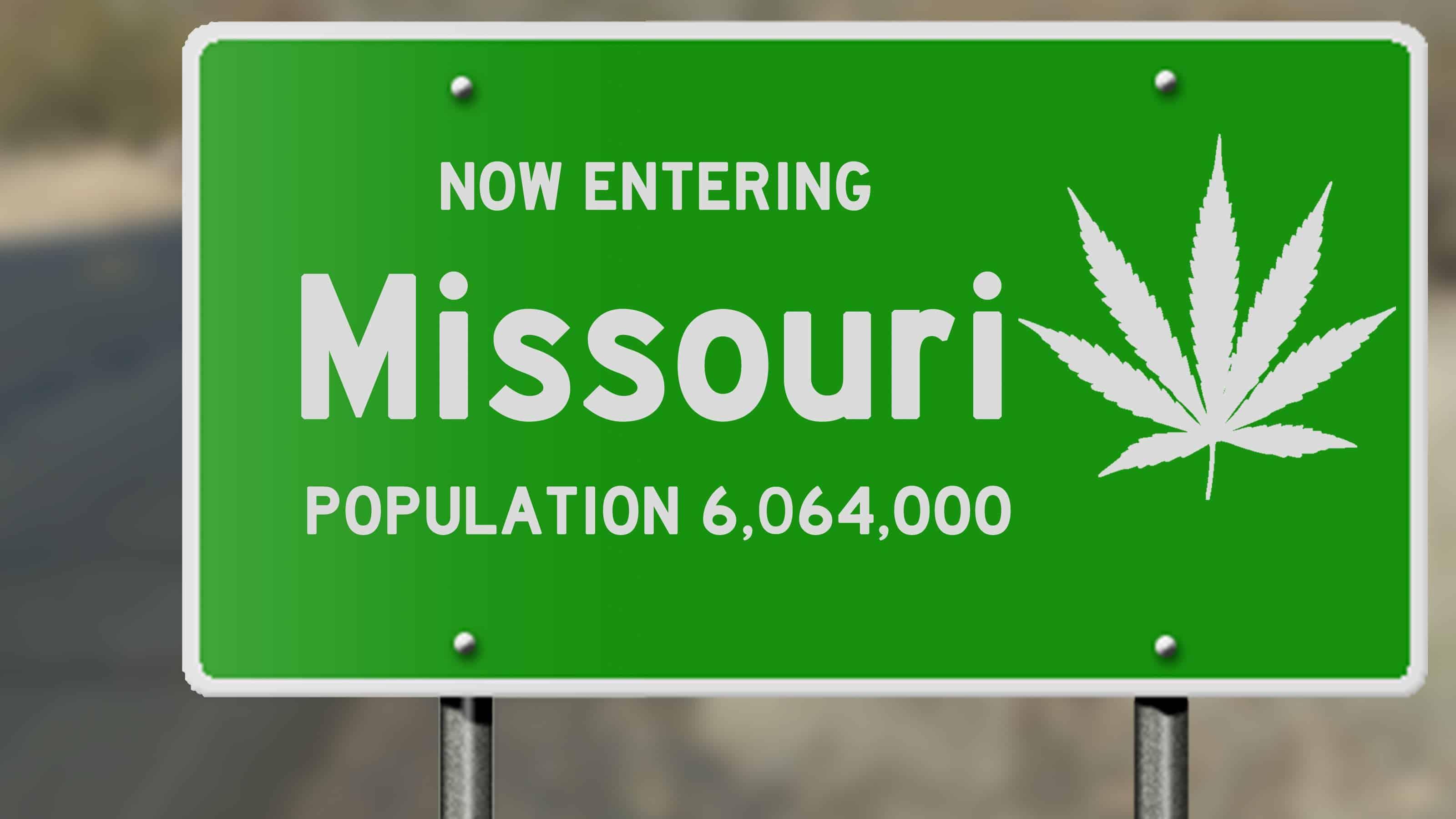 missouri-road-sign-with-marijuana-leaf